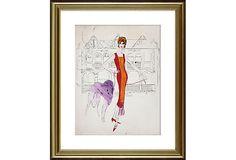 Andy Warhol, Female Fashion Figure