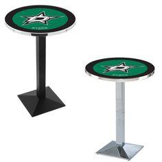 Dallas Stars Square-Base Bar Table