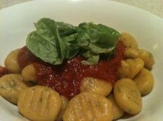 Gluten-Free Pumpkin Gnocchi - kids can help you make this!