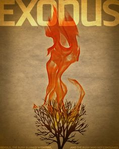 Exodus. I love this design. It's not cliche christian stuff, but still gets the message across.