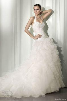 Pepe Botella Wedding Dresses 2012 | Wedding Inspirasi