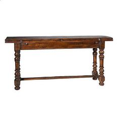 Hunt Console / Table #diningtable #furniture #homedecor #interiordecorating #custommade #console #french