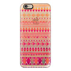 iPhone 6 Plus/6/5/5s/5c Case - Summer Breeze - Phone Crystal Clear... ($40) ❤ liked on Polyvore