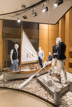 DAKS Window Display | Spring/Summer 2013 by Millington Associates #visualmerchandising #vm