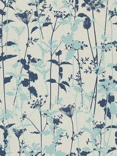 BuyHarlequin Nettles Wallpaper, Duck Egg, 110172 Online at johnlewis.com