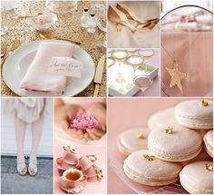 pink + gold