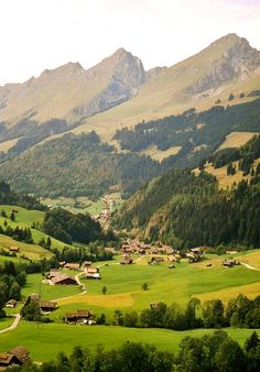 Gruyere, Switzerland. That's where the Gruyere cheese is coming from and where you get to eat the very best Cheese Fondue!