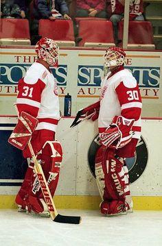 Ken Wregget & Chris Osgood...Detroit
