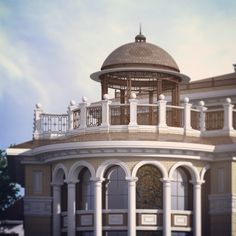 Ротонда для проекта исторического особняка