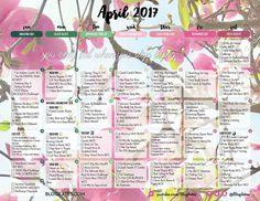 April 2017 Workout Calendar! – Blogilates