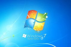 Windows 7 Starter edition is exclusively for netbook computers. You can't get it on a standard PC because Windows 7 Starter is a significantly stripped-down version of Windows Windows Seven, Desktop Gadgets, News Website, Windows Defender, Windows Versions, Android Windows, Windows System, Creative Suite