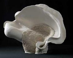 NORIKO KURESUMI - Associate Artist at BrickHouse Organic Ceramics, Coil Pots, Steel Sculpture, Pottery Classes, Ceramic Studio, Contemporary Sculpture, Japanese Artists, Ceramic Artists, Mosaic Glass