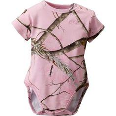 Cabelas Infants Camo Short-Sleeve Snap Shirt