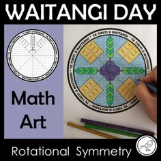 Waitangi Day Math Art – Rotational Symmetry – The Treaty of Waitangi Math Art, Fun Math, School Resources, Classroom Resources, Student Learning, Teaching Kids, Treaty Of Waitangi, Waitangi Day, Rotational Symmetry