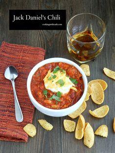 Jack Daniels Chili | cookingwithcurls.com