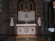 St John the Evangelist, Montréal; Lenten Array