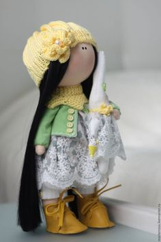 Textile doll / Куклы Тильды ручной работы. Ярмарка Мастеров - ручная работа. Купить Интерьерная кукла. Handmade. Интерьерная игрушка, кукла в подарок