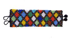 Zulu bracelet large. Made by the crafters of Woza Moya www.hillcrestaids.org.za