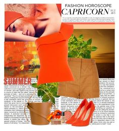 """""""Capricorn Summer"""" by polybaby ❤ liked on Polyvore featuring JEM, River Island, Roland Mouret, Milani, J.W. Anderson, New Look, Estée Lauder, capricorn and stylehoroscope"""
