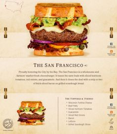 40 Of The Most Delicious-Looking Cheese Burger Combinations Ever – UltraLinx Burger Menu, Gourmet Burgers, Burger Recipes, Grilling Recipes, Cooking Recipes, Burger Dogs, Burger And Fries, Junk Food, Crazy Burger