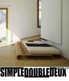 interesting bed idea Simpledoubledeux-Drexler Guinand Jauslin-Drexler Guinand Jauslin