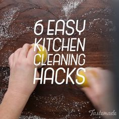 From a blender cleaner cheat to an easy way to sanitize your cutting board, here are 6 simple cleaning hacks. 9 Easy Health Life Hacks to create Your Body FEEL JUST LIKE New! hacks 1 diy hacks hacks of life hacks House Cleaning Tips, Diy Cleaning Products, Deep Cleaning, Spring Cleaning, Cleaning Hacks, Household Cleaning Tips, Organizing Hacks, Diy Organisation, Clean Baking Pans