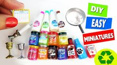 10 Easy DIY Miniature Crafts - each in less than 1 minute #2