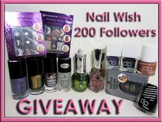 Nail Wish: 200 Followers Giveaway!
