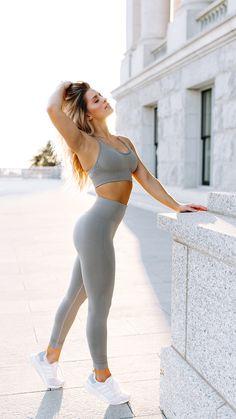 84732078e4743 Gymshark High Waisted Seamless Leggings - Slate Grey Marl