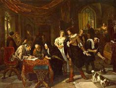 Jan Steen - The Wedding of Tobias and Sarah. 131 x 172 cm, Oil on canvas, Herzog Anton Ulrich Museum, Braunschweig Rembrandt, Tobias, Oil On Canvas, Canvas Prints, Art Prints, Anton, Dutch Golden Age, Dutch Painters, Dutch Artists