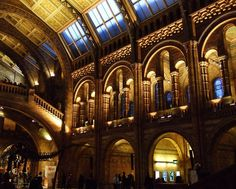 """Admiring listed building architecture @NHM_London after leaving day of #Seasearch talks & behind the scenes tour"""