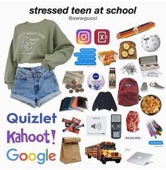 Discover recipes, home ideas, style inspiration and other ideas to try. Lazy Outfits, Cute Comfy Outfits, Teen Fashion Outfits, Girl Outfits, Aesthetic Fashion, Aesthetic Clothes, Teen Trends, Aesthetic Memes, Vetement Fashion