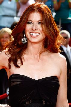 "Debra Lynn Messing is an American actress. She is widely known for her television roles in Will & Grace and The Starter Wife. Born: August 15, 1968 (age 43), Brooklyn  Height: 5' 8"" (1.73 m)  Spouse: Daniel Zelman (m. 2000–2011)  Children: Roman Walker Zelman  Siblings: Brett Messing     http://images1.fanpop.com/images/photos/2300000/Debra-debra-messing-2388176-1707-2560.jpg"