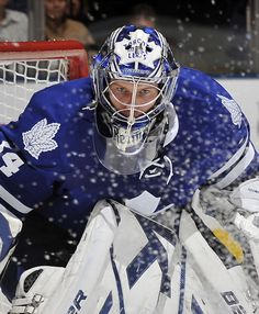 My faith sustains me - In victory and defeat - Christ lives in my heart (James Reimer) Hockey Helmet, Ice Hockey Teams, Hockey Goalie, Hockey Games, Football Helmets, Hockey Live, Hockey Mom, James Reimer, Air Canada Centre
