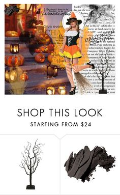 """Halloween"" by andjelija-1 ❤ liked on Polyvore featuring Fantastic Craft and Bobbi Brown Cosmetics"