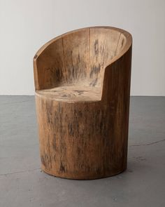 Pair of Solid Wood Chairs by Jose Zanine | From a unique collection of antique and modern chairs at https://www.1stdibs.com/furniture/seating/chairs/