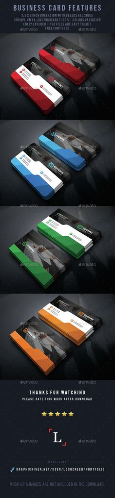 Shade Corporate Business Card Template PSD. Download here: http://graphicriver.net/item/shade-corporate-business-card/15024086?ref=ksioks