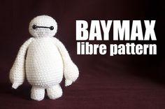 Patron crochet Baymax ( les nouveaux heros) (big hero 6) amigurumi patron français gratuit ( free pattern)