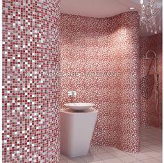 mosaique en marbre et verre pour sol et mur a poser dans une douche italienne et - Salle De Bain Mosaique Douche Italienne