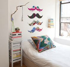 I'm doing this to my room Girl Room, Girls Bedroom, Bedroom Ideas, Bedroom Designs, My Ideal Home, Cute House, Cozy Room, New Room, Interior Design Inspiration