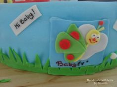 Baby TV logo for My Favourite Things Cake-- Handmade with Love by Susmin