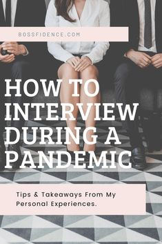 COVID-19   Tips on How to Interview During a Pandemic - Bossfidence The gist of things that worked for me while I interviewed during Covid-19 and hopefully a list of golden nuggets that you can take with you when you're entering the search during this pandemic. I Need A Job, Mask Online, Job Interview Tips, Hiring Process, Office Set, The New Normal, How To Make Light, Health Advice, Travel Size Products