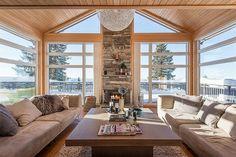 Hafjell - Lys, delikat og tiltalende hytte i Panorama med flott