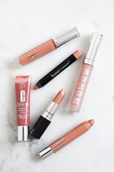 """Barely There"" Lip Colors - for those who want the ""au naturale"" lip look"