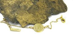 Gold single Israeli coin Necklace, Coin engraved necklace, Israeli jewelry, necklace, Birthday Gift, under 40, Unisex, Sexy, Birthday