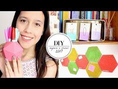 DIY: 14 ideas para decorar TUS CUADERNOS!   Nancy Loaiza - YouTube