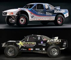 Robby Gordon Ford Trophy Truck 1996 Old vs.