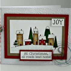 Gaynor Greaves - Nordic Christmas - Santa Delivery stamp - Neenah Solar White - Kraft card - Snowflake embossing folder - coloured with Spectrum Noir Pens and Pencils - - - - 120 Nordic Christmas, Noel Christmas, Christmas Crafts, Christmas Ideas, Christmas Cards To Make, Xmas Cards, All Things Christmas, Card Tags, I Card