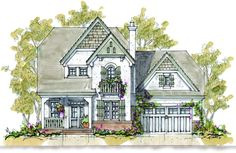 Cottage Floor Plans, Cottage House Plans, Cottage Homes, Cottage House Designs, Cottage Living, Coastal Cottage, French Country House Plans, French Country Cottage, Country Cottages