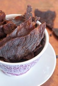 #Whole30 Beef Jerky recipe from Against All Grain